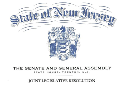 state of new jersey senate and general assembly resolution